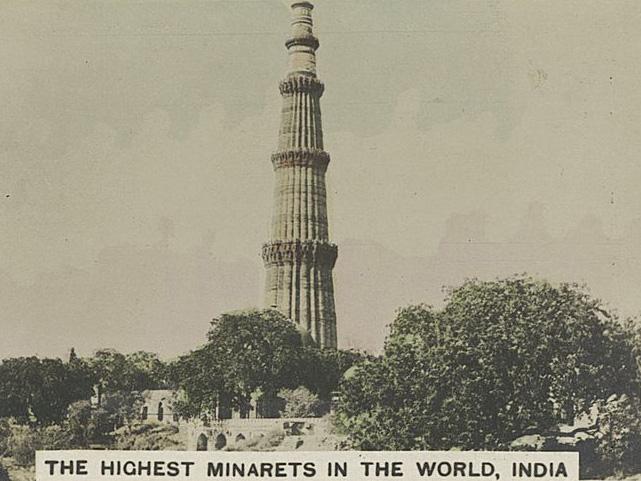 India-Delhi-Minaret