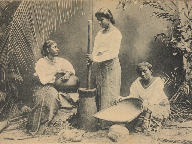 Sri-Lanka-Singhalese-Women,-Ceylon